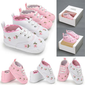 Infant Baby Shoes Girl Flower