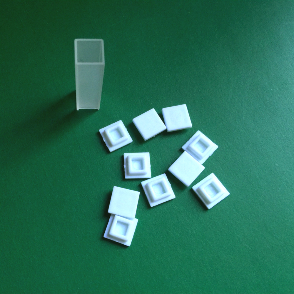 Glass Cuvette Cover Plastic Cuvette Cap Nylon Lid For Cuvette Size 10mm*10mm Resistant High Temperature & Pressure 10 Pcs