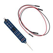 5V 3 3V Logic pióro testowe Tester poziomu cyfrowy obwód Debugger Logic Pulser Analyzer wykrywanie sondy narzędzie obwodu tanie tanio OOTDTY CN (pochodzenie) ELECTRICAL NONE Analogowe tylko 15x10x0 1cm NORMAL 9FF100314