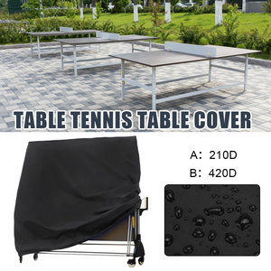Pings Pong Table Cover Storage