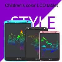 """12 """"10"""" 8.5 """"LCD écriture tablette électronique graphique tablette pour dessin Art lumière planche à dessin numérique tablette dessin Pad cadeau"""