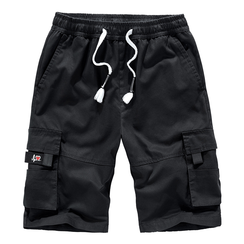 BSETHLRA 2020 Cargo Men Shorts Summer Fashion Short Pants Casual Cotton Quality Mens Military Solid Shorts Homme
