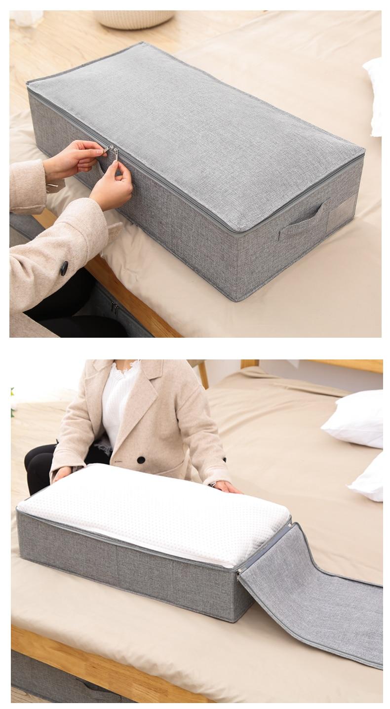 Underbed Shoe Storage Organizer Box 1 (9)