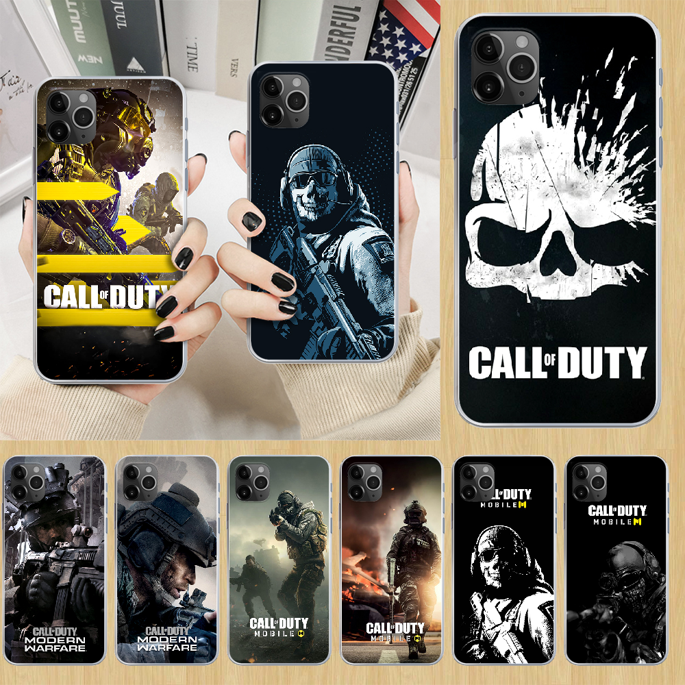 Чехол для телефона Call of Duty game Warzone для iphone 5 5S 6 6S PLUS 7 8 12 mini X XR XS 11 PRO SE 2020 MAX прозрачный prime