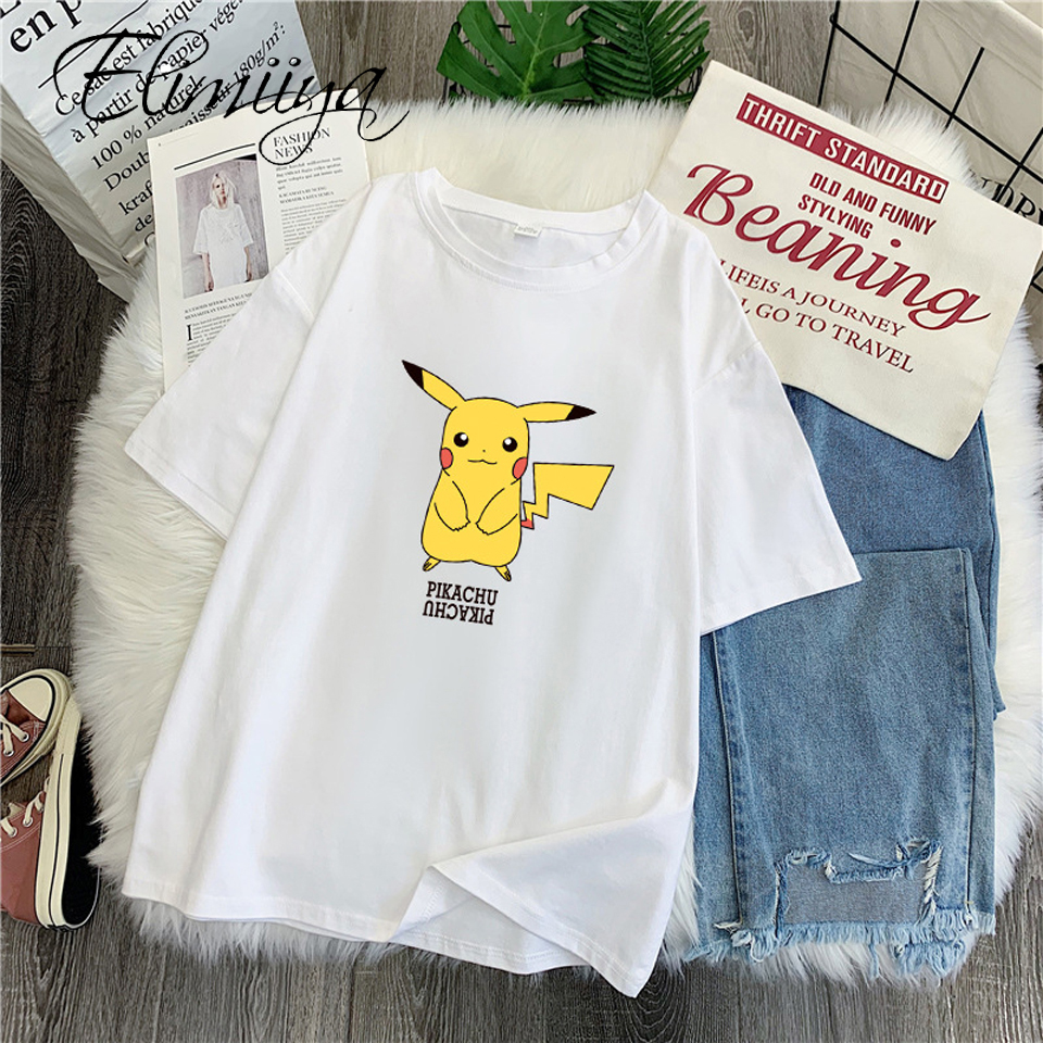 elimiiya-pikachu-font-b-pokemon-b-font-t-shirts-women-harajuku-kawaii-cartoon-t-shirt-top-tees-female