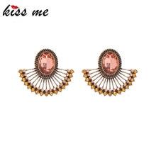 Vintage Earrings Juicy Crystal Fashion Jewelry Bohemia-Style White Women Kissme Sector