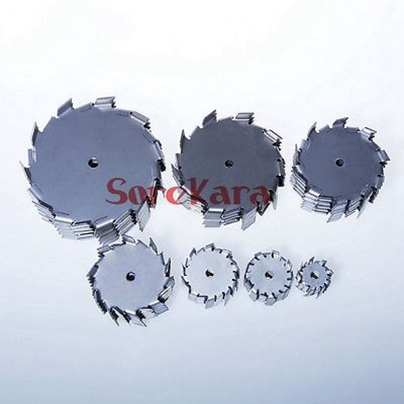 Diameter 35mm 50mm 60mm Bore 8mm Stainless Steel 304 Stir Blade Impeller Tooth Type Dispersed Disc Gear
