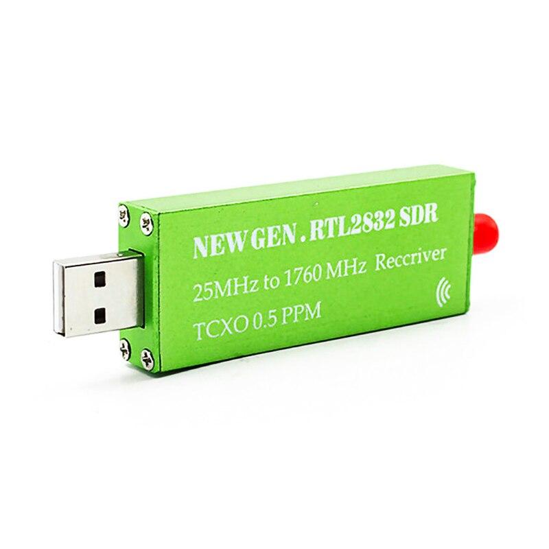Ресивер яркостью от 25 МГц до 1760 МГц, высокая стабильность ppm TXCO, Поддержка AM/NFM/FM/DSB/USB/L RTL2382U DVB-T RTL SDR приемник H136