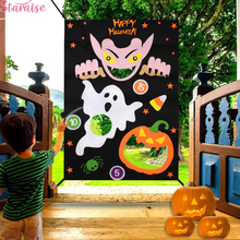 Staraise Halloween Hanging Toss Game Gift For Kids Happy Decor Vampire Toys Party Favor Supplies