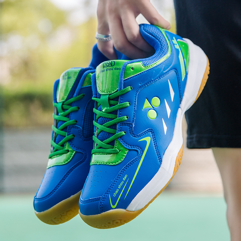Badminton Racquetball Squash Shoes For Women Men Court Sneaker Volleyball Table Tennis Pickleball Training Boys Kids Sport Shoes