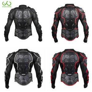 Image 1 - Motorrad Schutz Rüstung Jacken Brust Zurück Schutz Getriebe Motocross Ski Skateboard Snowboard Sicherheit Jacke Körper Protector