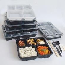 50 шт одноразовые пластиковые контейнеры для еды