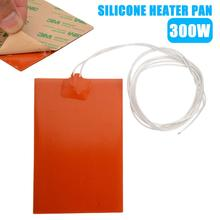 300W 220V Engine Oil Tank Silicone Heater Pad Universal Fuel Tank Water Tank Rubber Heating Mat Warming Accessories 10 x 15cm dia330mm 220v 250w large car engine oil pan heater flexible silicone heated kapton heating industrial heater pi film heat
