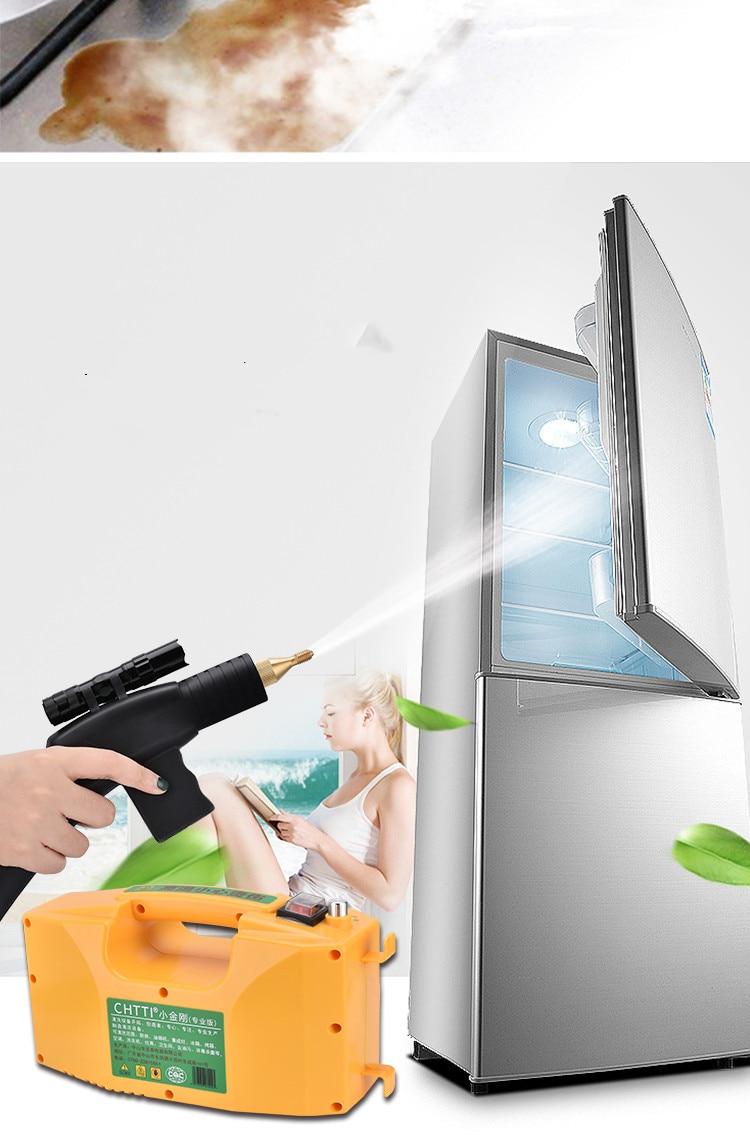 3000 Вт 220 В высокотемпературный Профессиональный пароочиститель ручной паровой генератор Очистительная Машина для бытовой кухни