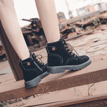 Women Boots Leather Shoes For Winter Boots Shoes Platform Ladies Warm Shoes Woman Casual Spring Botas Mujer Female Ankle Boots стоимость