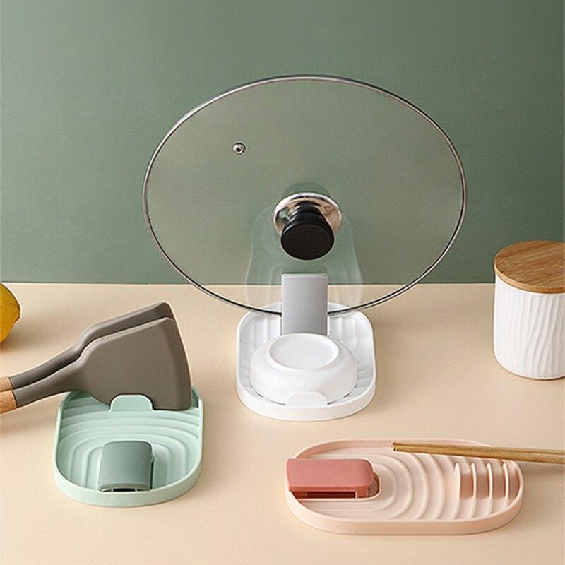 Купить кухонный стеллаж для крышек шпателя домашняя кухонная посуда