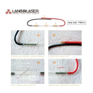 Image 4 - UK IPL&SHR lamp 7*65*130F   wire , lamp code F985  , IPL flash lamp , xenon arc lamp