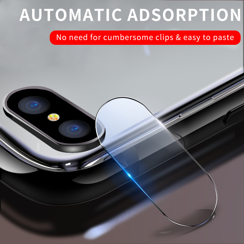 For IPhone 7 8 Plus X S Xs Max Xsmax Phone Lens Screen Protector For IPhone 7 8 9D Prevent Fragmentation Back Camera Lens