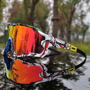 Image 5 - 2020 marka açık spor bisiklet gözlükleri erkekler bisiklet gözlük dağ yol bisikleti bisiklet gözlük UV400 bisiklet güneş gözlüğü