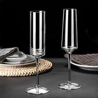 100-200 мл Кубок для шампанского бокал неэтилированный кристалл бокал для вина бокал для сладкого вина сверкающий бокал для вина Бар семейный ...