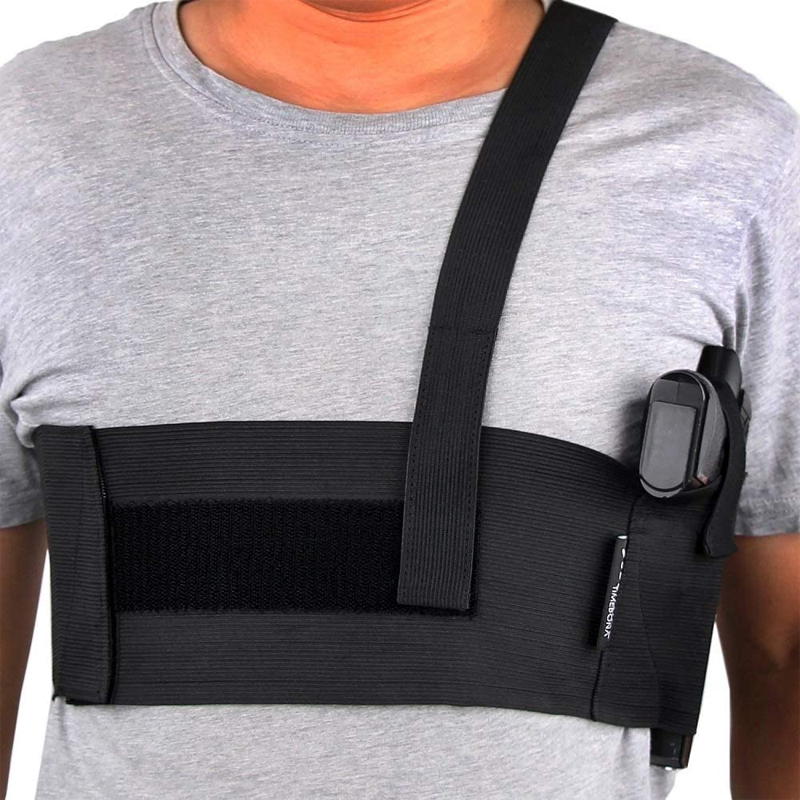 Bandas abdominales tácticas para pistola, Funda Universal para pistola, para el vientre, para el hombro, para las axilas, para Glock 17, 19, 22 Series