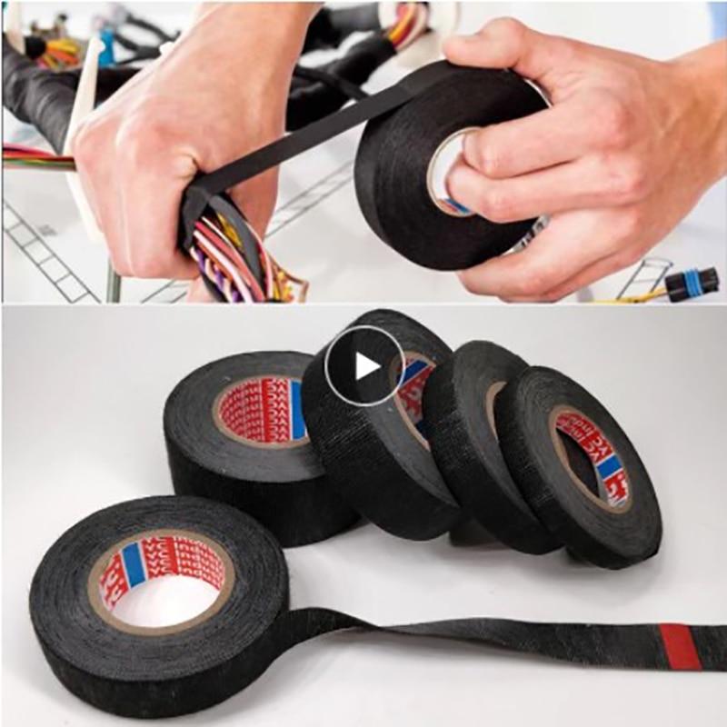 PET Velvet Wiring Bundle Flame Retardant Tape Flame Retardant Tape Wear-resistant For Vehicle Internal Winding Looms Harnesses