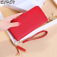 Women Long wallets Clutch New zipper tassel wallet Large Capacity Wallets Female Purse Lady Purses Phone Pocket Card Holder 568