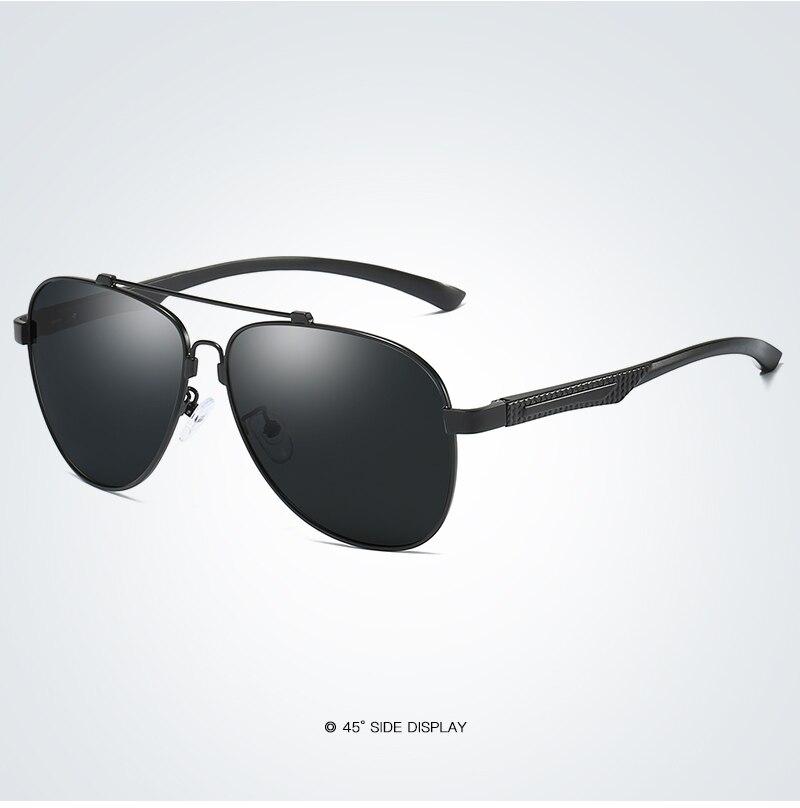 Classic Polarized Metal Driving Sun Glasses Male Men Coating Sunglass UV400 Shades Eyewear Oculos De Sol