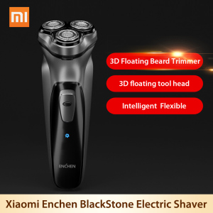 Image 2 - Xiaomi 3D Electric Shaver Nose Hair Trimmer Beard Electric razor shaving Machines for Men Washable Rechargeable Earphone AirDots