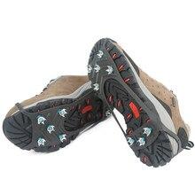 Gorące antypoślizgowe kolce do butów Crampon Anti-ice na buty śnieg piesze wycieczki antypoślizgowe Camping Walking uchwyty wspinaczka Ice Crampon Ice Drifts
