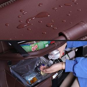 Image 4 - Organiseur multifonctionnel pour siège de voiture, organiseur pour siège arrière de voiture, sac de rangement pour voiture