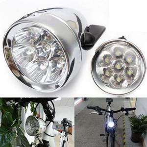 Klassische 200LM LED Vintage Fahrrad Scheinwerfer Fahrrad Scheinwerfer NebelR/'DE