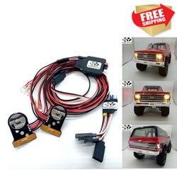 RC Parts TRX4 V2.0 LED Light Kit for trax TRX-4 Chevy K5 Blazer Body