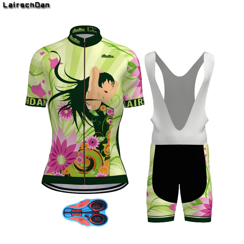 Sptgrvo 2020 Vert Drole Cyclisme Maillots Ensemble Vtt Vtt Vetements Femme Velo Ensemble Femme Cyclisme Kit Fietskleding Dames Aliexpress