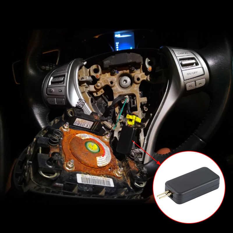Outil d'inspection universel d'airbag de voiture SRS détecte rapidement les défauts outil de dépannage accessoires de véhicule de voiture noir