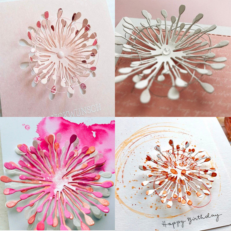 New Design Craft Metal Cutting Die Cut Dies Fish Ring Round Decoration Scrapbook