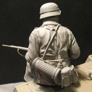 Image 2 - مجموعة جنود لشخصيات الراتنج لعام 1/16 مجموعة تاريخية غير مطلية ومفككة 595G