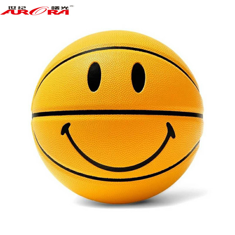 [Aurora/furra] Official Genuine Product Basketball Size 7 Moisture Absorption Leather Game Training Ball Special Offer