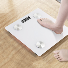 Bluetooth Scales Floor Body Weight Bathroom Scale Smart Backlit Display Digital Scale Body Weight Body Fat Water Muscle Mass BMI