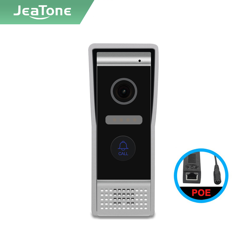 Jeatone Tuya smart NEW IP WIFI video intercom Doorbell Wide angle Interphone,IP65 Weatherproof,AHD camera,IR Night vision