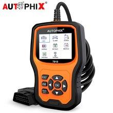 Autophix 7910 OBD2 teşhis tarayıcı açık kod okuyucu tarama tam sistem CBS ABS EPB TPMS yağ servis sıfırlama araba araçları BMW için