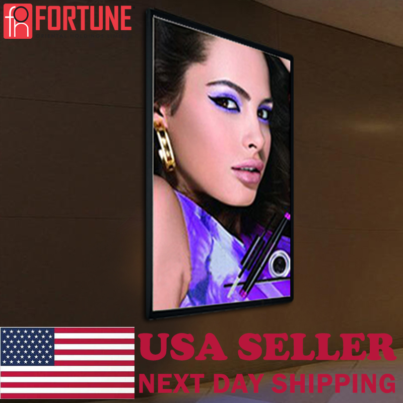2020 Advertising LED Light Box For Cosmetic Shop Illuminate Poster Frame Europe And America Marketing Products LED Light Boxes