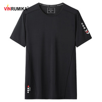 L-9XL 여름 남성 짧은 소매 티셔츠 큰 사이즈 캐주얼 티셔츠 고품질 블랙 화이트 티셔츠