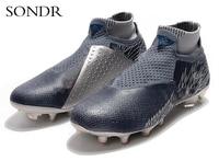 2020 sapatos de futebol para homens crianças tênis de futebol indoor turf men botas de futebol originais confortáveis à prova dwaterproof água