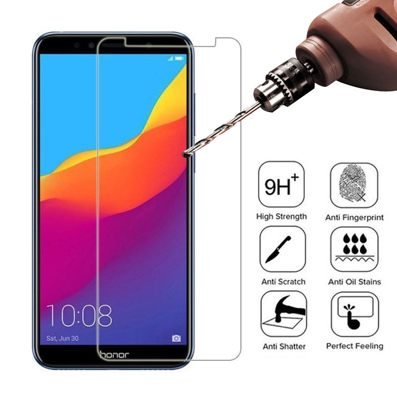 Tempered Glass for Huawei Honor 10 9 Lite 8x 20i 10i Screen Protector Glass for Honor 10 20 , 8c , 8a , 7a , 7c , 9x , Pro Glass image
