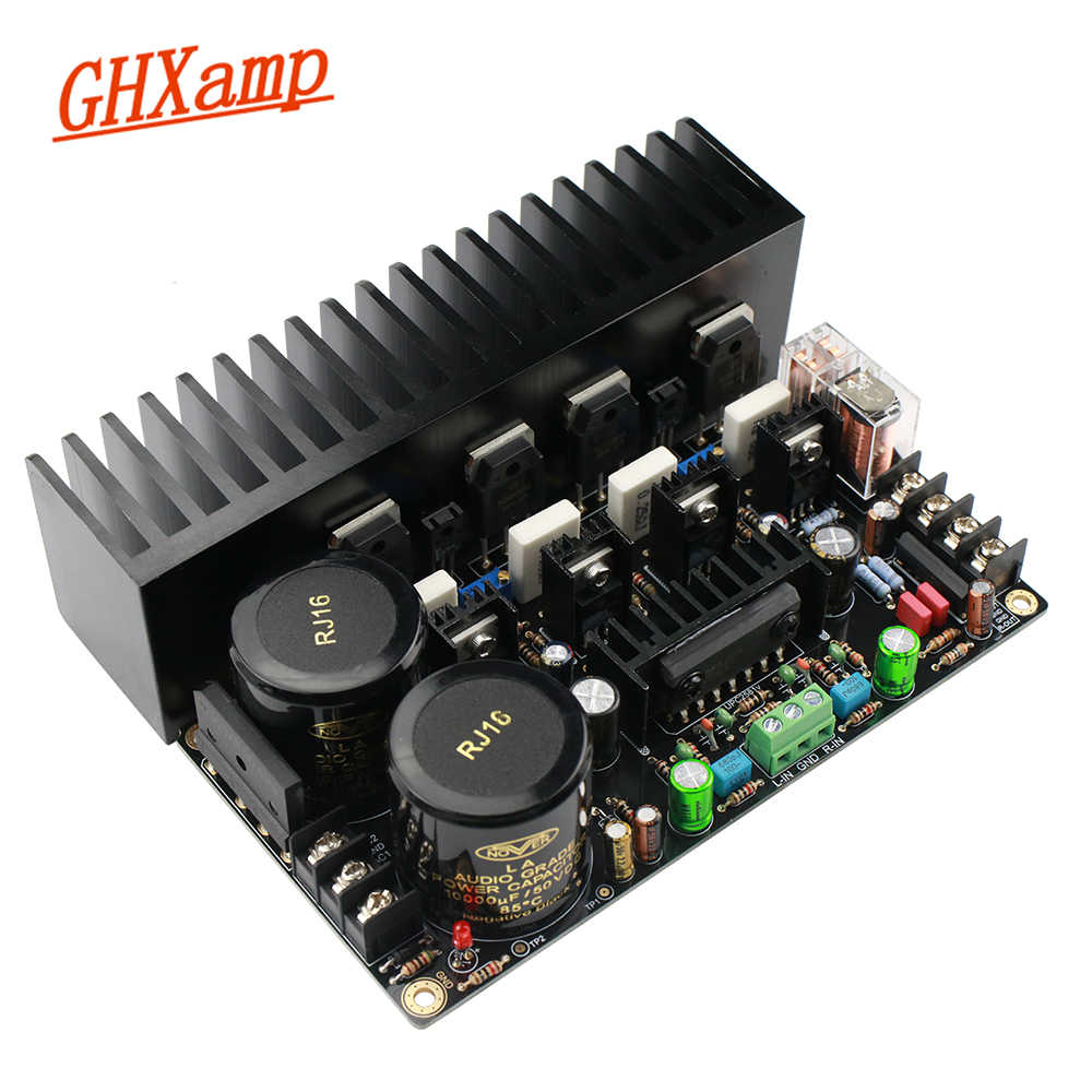 Carte d'amplificateur à lampes GHXAMP ONsemi amplificateur 150W + 150W HiFi double canal Audio amplificateurs stéréo