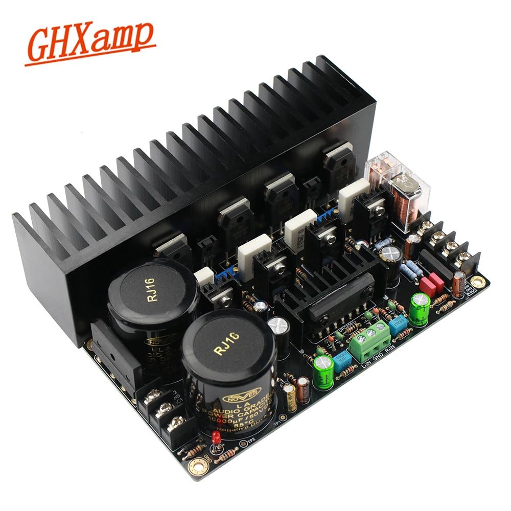 GHXAMP ONsemi Tube Amplifier Board UPC2581V 150W 150W HiFi Dual Channel Audio Amplifiers NJW0281G NJW0302G