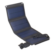 מתקפל 20W USB פנל סולארי נייד מתקפל עמיד למים פנל סולארי מטען נייד כוח סוללה מטען