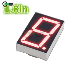 1.8 pollici HA CONDOTTO il Modulo Catodo Comune 10 Spille 1 Bit 7 Segmento di 2.2x1.5x0.43 Pollici LED Rosso display Digitale Del Tubo