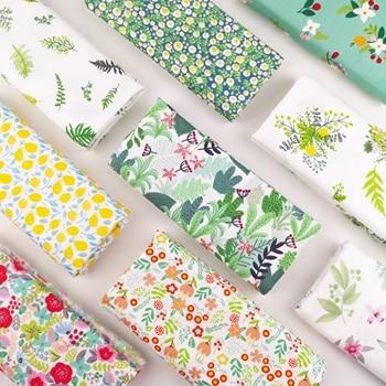 100% cotton printed  fabric diy sewing fabric for home textile bedding sheets baby dress DIY manual work cloth tecidos tilda 1